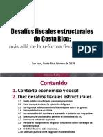 Desafíos Fiscales, Estudio de la ICEFI