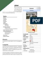Provincia de Espinar