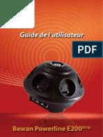 Guide de l'Utilisateur E200Strip