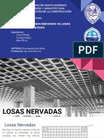 Grupo 8 - Presentación Comparación de Losas Nervadas vs Macizas