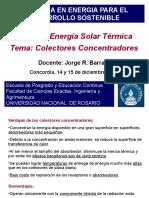 4 Colectores Concentradores - UNR 2018