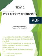 Tema 2. Población y Territorios (Resumen)