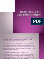 Neutralizar Las Emociones