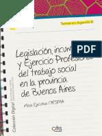 3. Legislacion Incumbencias y Ejercicio Profesional