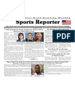 February 13 - 19, 2019  Sports Reporter