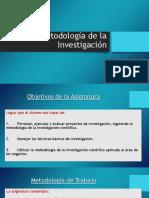 Introduccion a La Metodologia de La Investigacion 2018