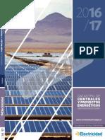 Catastro de Centrales y Proyectos Energéticos 2016-2017