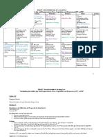 DRAFT GAPE Calendar & Syllabus