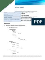 MPI U1EA4 FormatoEcuacionesOrdenSuperior