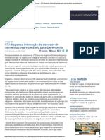 ConJur - STJ Dispensa Intimação de Devedor Representado Pela Defensoria