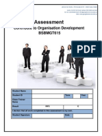 Assessment BSBMGT615 Contribute to Organizational Development (1) (1)