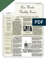 Newsletter Volume 10 Issue 06