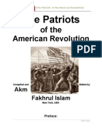 001. Patriots of the American Revolution