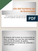 El Impacto Del Turismo en La Economía