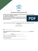 08022019 Anexo v - Declaração Da Secretaria de Educação