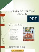 Historia Del Derecho Agrario