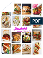 Different Types of Sandwiches and Breads