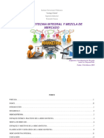 Mercadotecnia Integral y Mezcla de Mercado