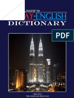 Bhanot DR. Malay English Dictionary