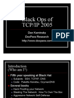 Black Ops Of TCPIP 2005