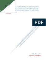 Informe Pruebas Concentrados de Pb