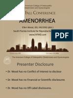 amenorhea dari acog 2016