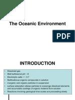 the oceanic environment