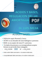 Clase 2. Regulación Del PH. Amortiguadores