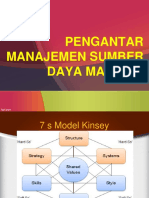 01. Pengantar Manajemen Sumber Daya Manusia