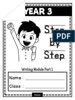 Year 3 Step by Step Writing Module Part 1