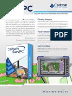 Carlson SurvPC Brochure
