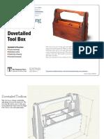 Dovetailed Tool Box