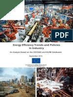 Energy Efficiency Trends Policies Industry