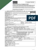 Formulario AUTORIZACION 2017 -DEMUNA