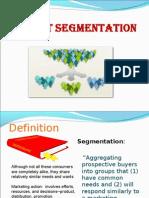 Market Segmentation (DS)