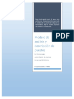 Modelo de Análisis y Descripción de Puestos