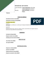 Descripción General Examen Mental