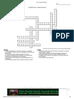 Leadership crossword puzzle