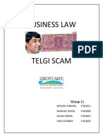 Group 11 Sec b Telgi Scam