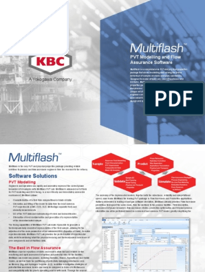 KBC Multiflash | Simulation | Phase (Matter)