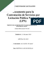 Documentosestándardelicitacion i p 2019.