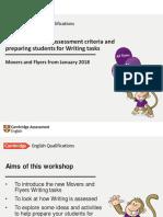 Using Writing Assessment Criteria and Preparing Students for the Writing Tasks Jan 2018 FINAL-Davide Greene