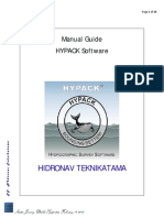 Manual Guide Hypack (SBES & MBES)