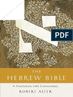 The Hebrew Bible_ a Translation With Commentary by Robert Alter