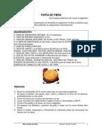 TORTA DE FIBRA