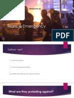 France Emergency