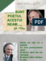 """""""… Eu sunt poetul acestui neam…"""" Gr. Vieru [Resursă electronică]"""