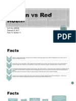 Carson vs Red
