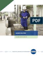 Adash A4300 VA3 Pro Data Sheet