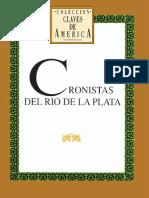 Cronistas Del Río de La Plata